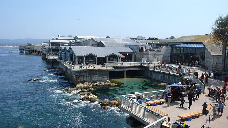 Monterey Bay Aquarium Highway 1 California