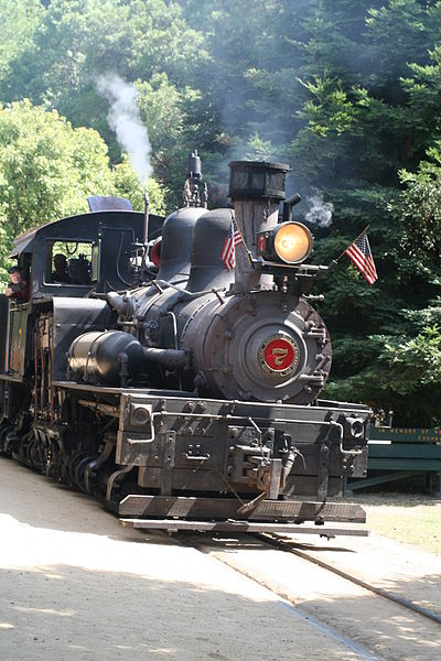 Roaring Camp Railroad Highway 1 California